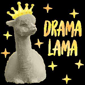 Drama Lama gelb