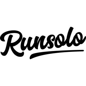 runsolo nur Schrift