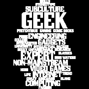 Geek (geeky, nerd)