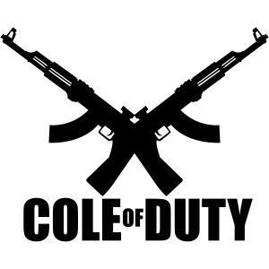 cole of duty vector
