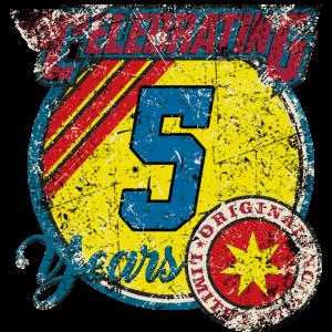 Celebrating 5 years - original blue limited edition - RAHMENLOS