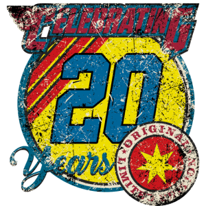 Celebrating 20 years - original blue limited edition - RAHMENLOS