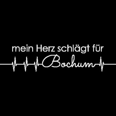 mein Herz schlägt für Bochum - mein Herz schlägt für Bochum - beste stadt,ich liebe,lieben,statement,sinus,ekg,i heart,i love,deutschland,deutsch,stadt,lieblingsstadt,lieblings,heart,herschlag,herz,love,liebe,Bochum