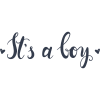 Es ist ein Junge
