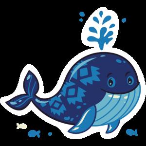Lustiger Whale