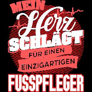 FUSSPFLEGER - Mein Herz schlägt