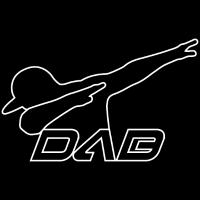 DAB black outline