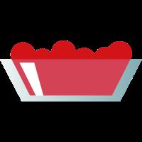Cocktailfrucht garnieren