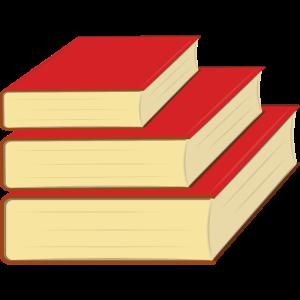 Stapel von Büchern