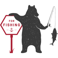 Fischen Bär