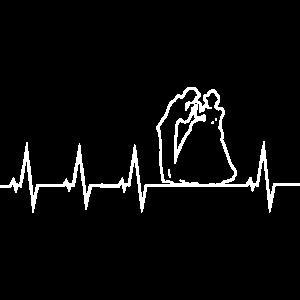 Hochzeit - Brautpaar - Heartbeat