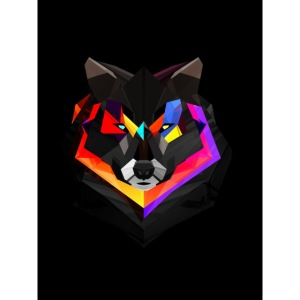 1200 Abstract Wolf l