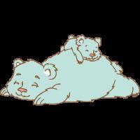 Bär mit Cub