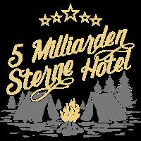 5 Milliarden Sterne Hotel Outdoorshirt