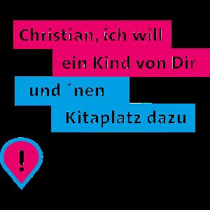 Christian blau pink
