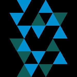 3d Muster Dreiecke