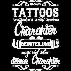 Meine Tattoos verändern nicht den Charakter