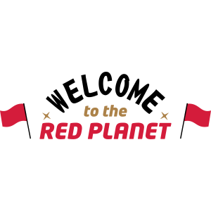 Willkommen auf dem Roten Planeten