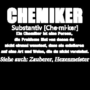 Chemiker - Chemiker Definition