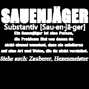 Sauenjäger - Sauenjäger Definition