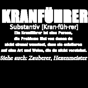 Kranführer - Kranführer Definition