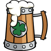 Stein von bier