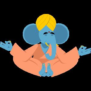 Meditation Elefanten