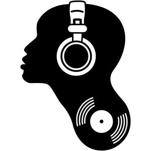 dj djane discjockey kopfhörer schallplatte vinyl musik techno dance kopf beat bass club elektro elec