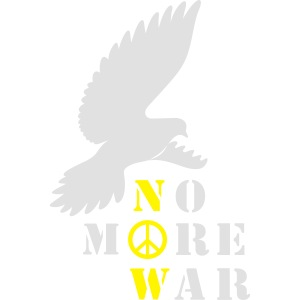 No More War Now Silhouette