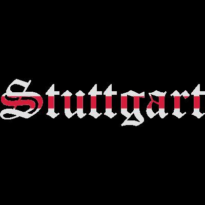 Stuttgart 2 Farbig - Stuttgart mit rotem Brustring -