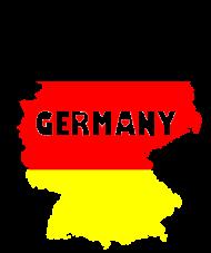Fan-Shirt: Germany transparente Schrift