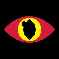 Lizard Eye (Vektorgrafik)