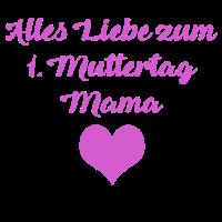 1. Muttertag Mädchen