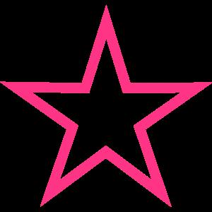 Stern Umriss 2 - Farbwechsel möglich