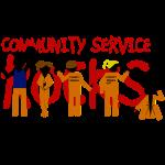 Misfits - community service rocks