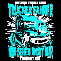 Verrückter Trucker Fahrer DE