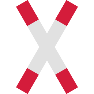 Andreaskreuz