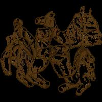 Kamele sitzen