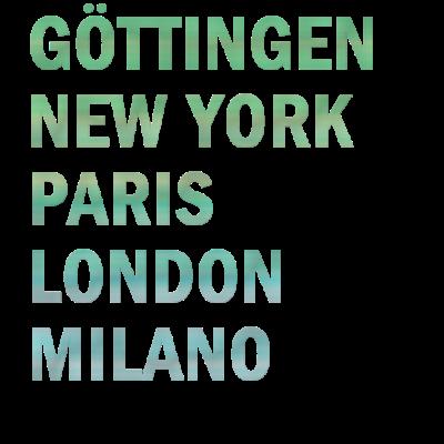 Metropole Göttingen - Metropole Göttingen - Göttingerin,Göttinger,Göttingen,0551