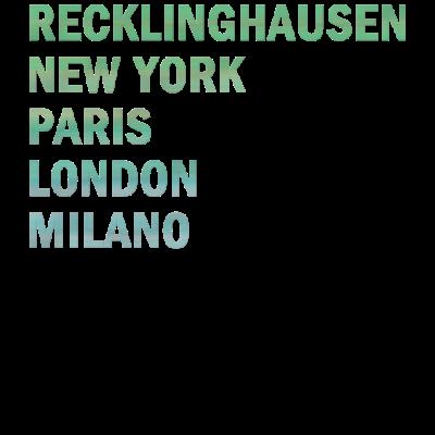 Metropole Recklinghausen - Metropole Recklinghausen - Recklinghausenerin,Recklinghausener,Recklinghausen,02361