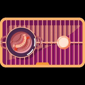 grill vectorstock 8901520