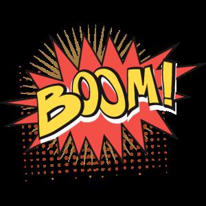 03 Boom png vectorstock 6455773
