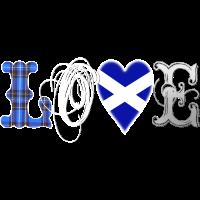 Love Scotland Tartan Edit