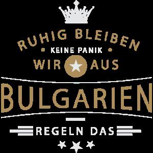 Ruhig bleiben Bulgarien