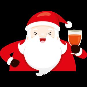 Feiern Sie Weihnachtsmann