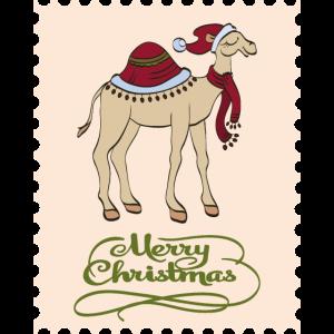 Weihnachten Kamel