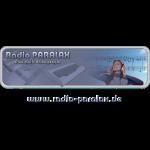 Radio PARALAX Classic-Logo mit Webadresse