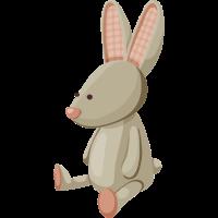 Spielzeug Kaninchen gefüllte Tier