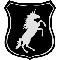 Wappen-Einhorn