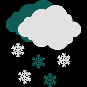 Schneewolke